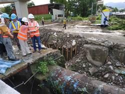 魏明谷到潭子關心2合1工程施工 期工程順利及早復水
