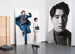 趙又廷凝視自己化身藝術展品