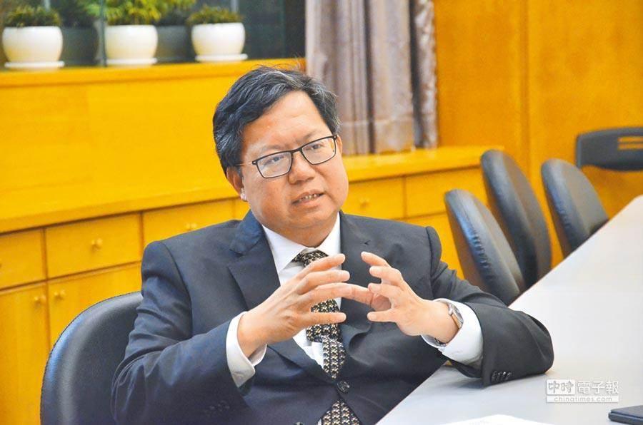 桃园市长郑文灿。(本报资料照片)