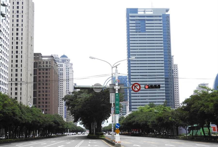 台中市市政路規畫從文心路,延伸到台中工業一路,全長約2公里。(陳世宗攝)