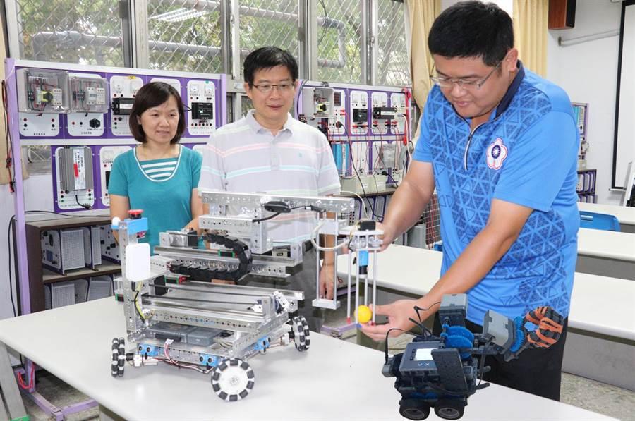 「2019全國自走車競速暨機器人創意大賽」10月將在台灣首府大學登場,即日起開放民眾報名。(勞動力發展署雲嘉南分署提供)