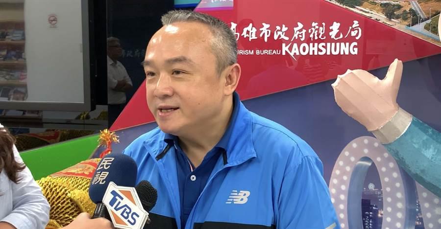 高市觀光局長潘恒旭自爆也長期遭「特定人士」跟監。(柯宗緯攝)