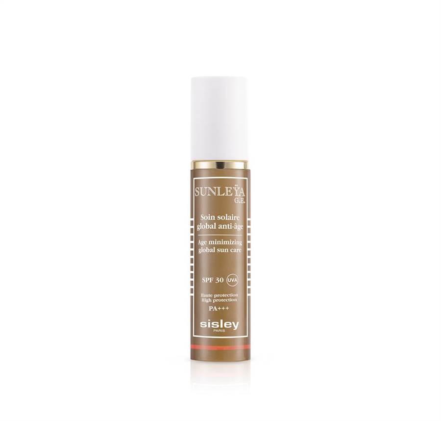 Sisley抗皺活膚防曬精華SPF30+,3100元。(Sisley提供)