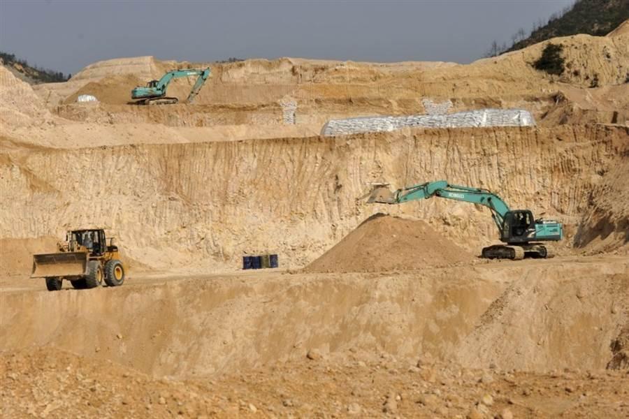 大陸稀土礦藏占了全球總量約36%。(美聯社資料照片)