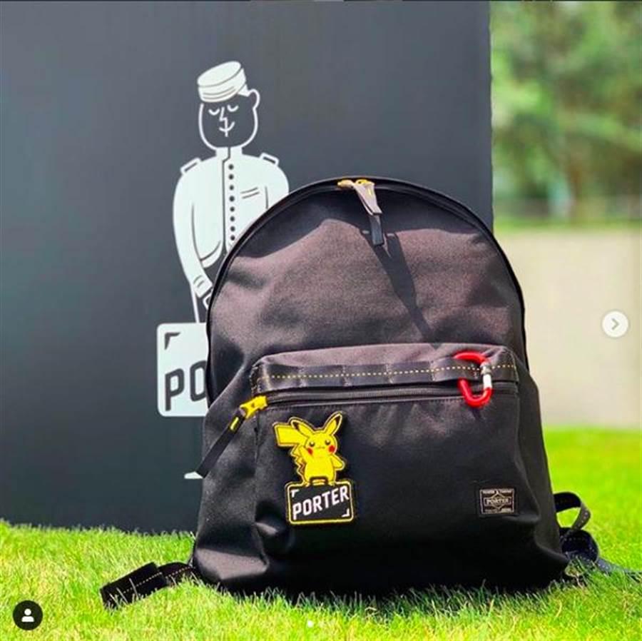 Pokemon&PORTER後背包,含稅售價3萬5500日幣。(取自IG yoshidakaban.officia)