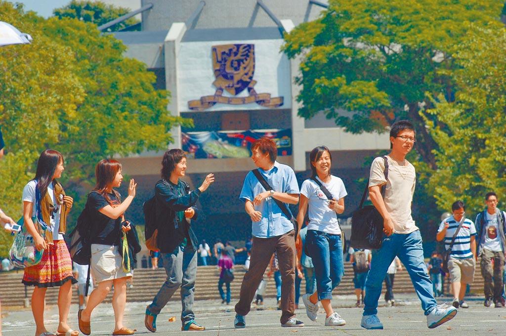 香港多所大學表示校園一切如常,圖為香港中文大學校園。(新華社資料照片)