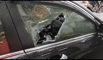 中市警追車手開四槍 議員助理嚇到打翻綠豆湯