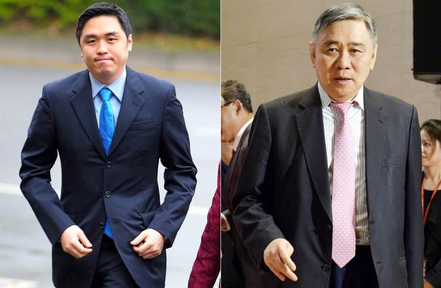 傳出王泉仁(左)有意三婚,然可靠消息指出這可能是女方意思,且王文洋為此震怒。(中時資料照片)