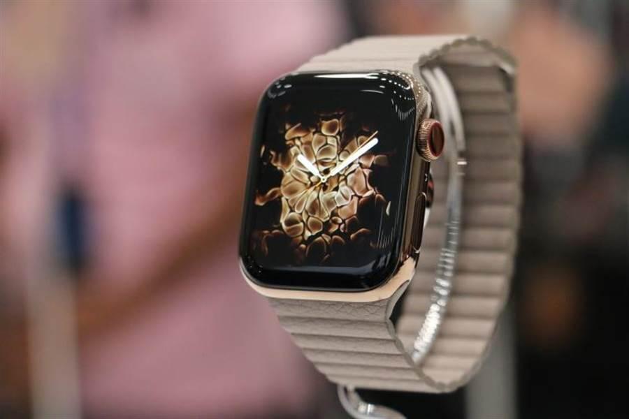 Apple Watch Series 4。(圖/黃慧雯攝)