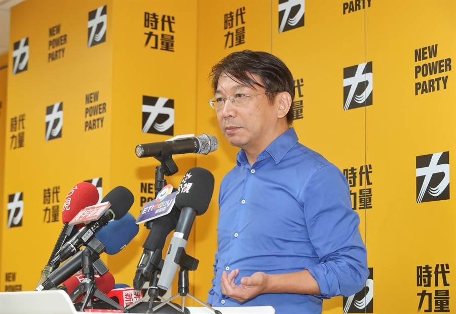 時代力量黨主席徐永明。(本報資料照)
