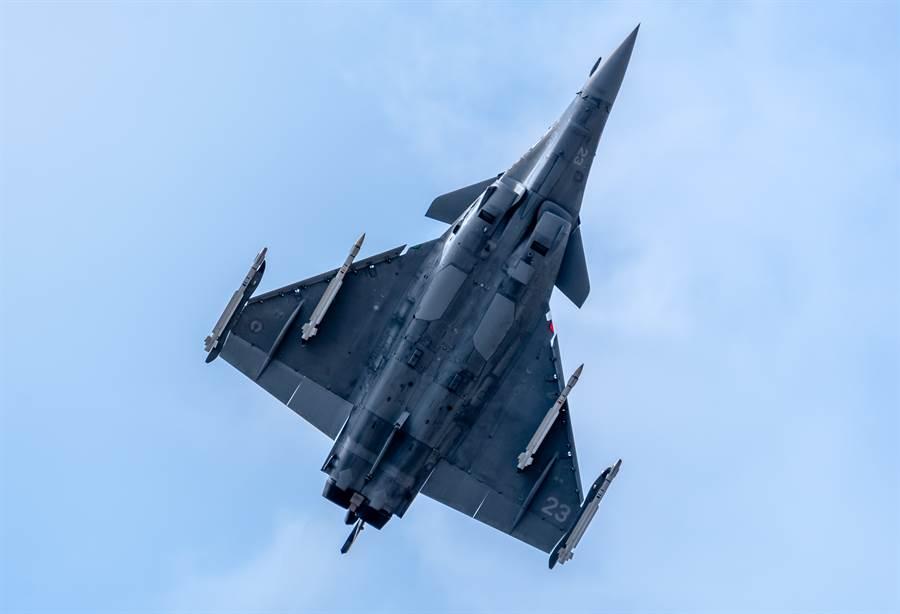 法國「飆風」M戰機的資料照。(達志影像/Shutterstock)