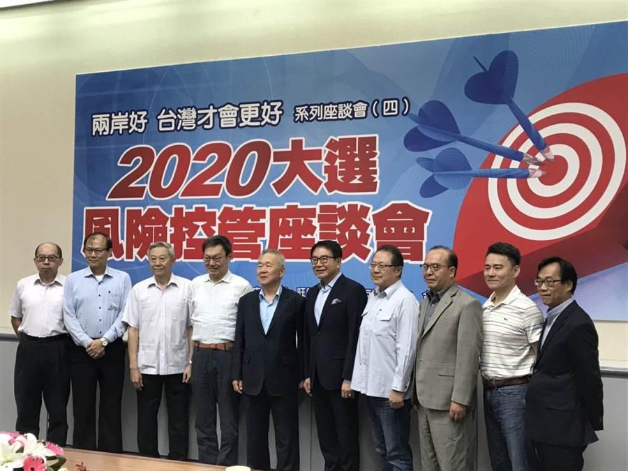 由《中國時報》、《旺報》與旺臺兩岸互信基金會合辦的「兩岸好,台灣才會更好」系列座談會(四)21日在中時大樓舉行。(記者呂佳蓉/攝)