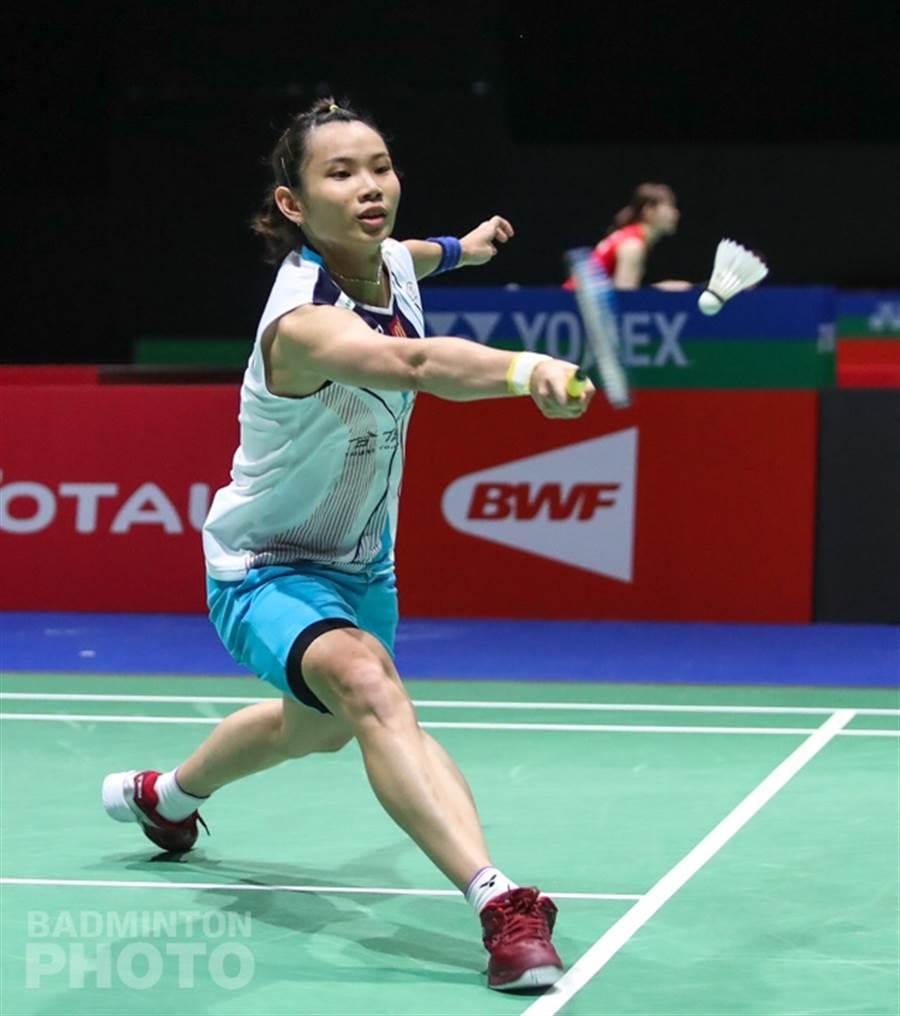 戴資穎在世錦賽開出紅盤,挺進女單16強。(Badminton Photo提供)