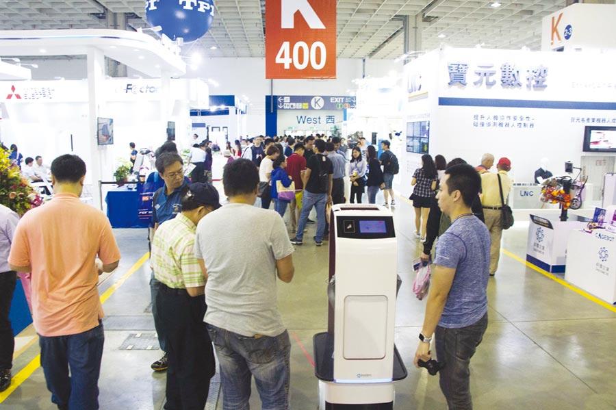 台灣機器人與智慧自動化展。圖/智動協會提供