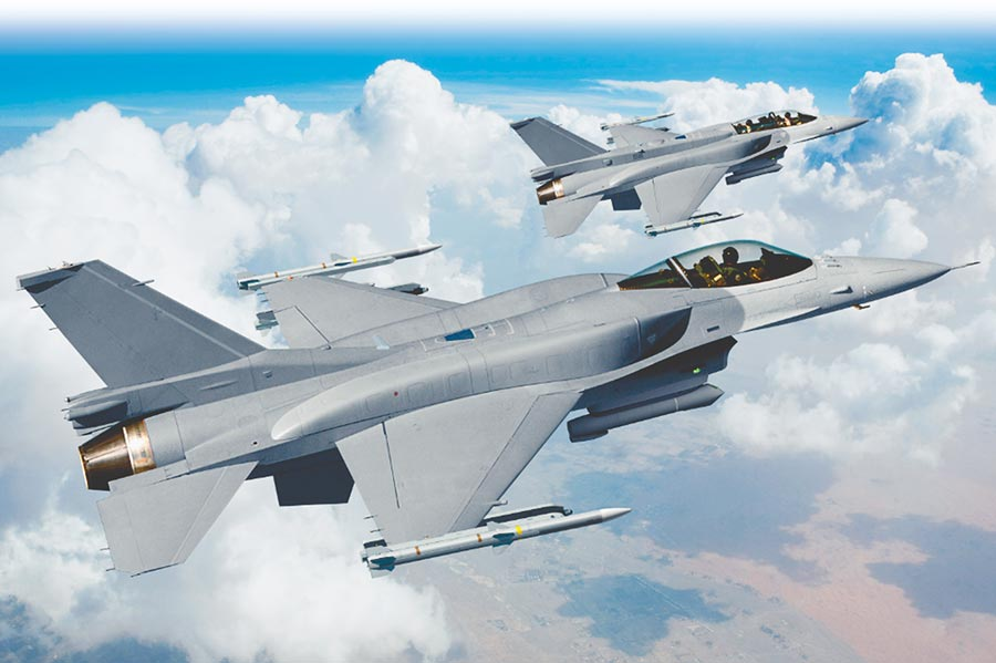 F-16V戰機。(摘自洛克希德·馬丁網站)
