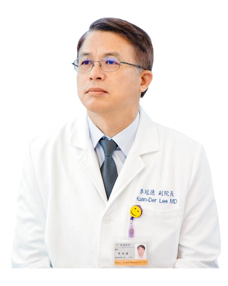 北醫副院長、血液腫瘤科教授李冠德。(魏怡嘉攝)