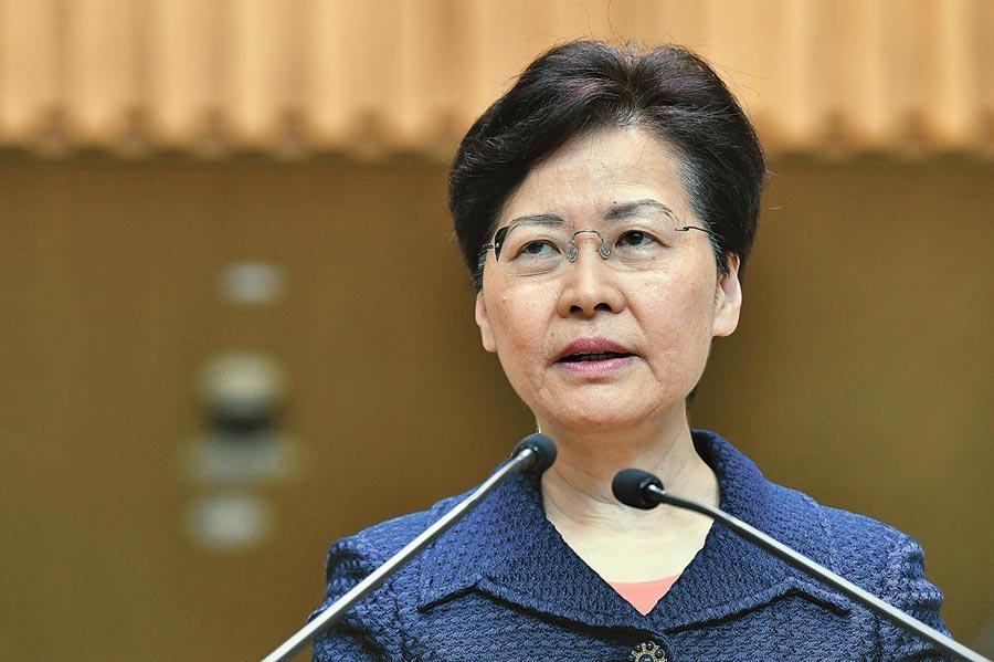 8月20日,香港特區行政長官林鄭月娥表示,將馬上展開工作構建對話平台。 (中新社)