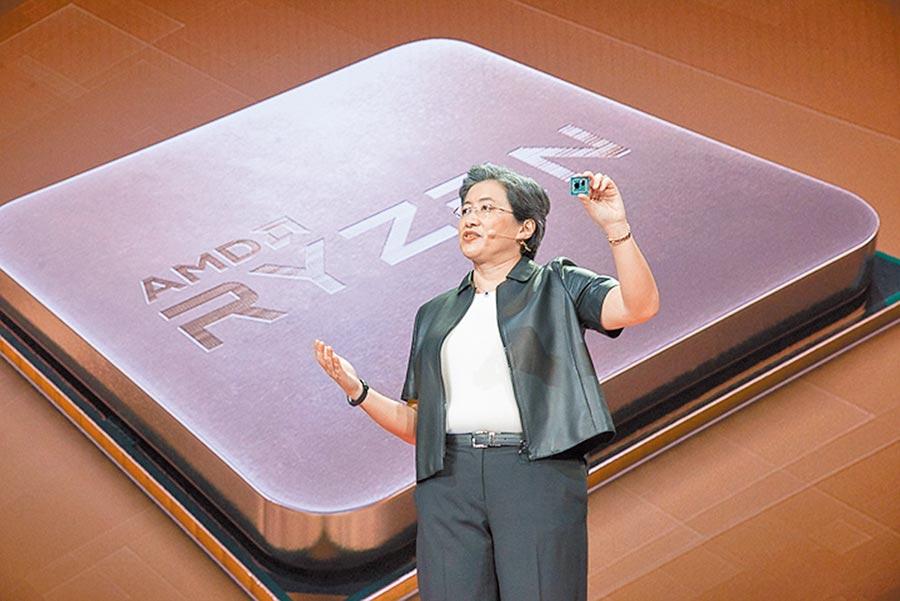 消費性電子新品零組件備貨需求釋出。圖為AMD7奈米桌上型電腦第三代Ryzen處理器。(本報資料照片)