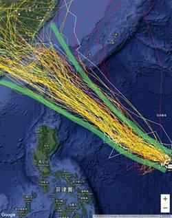 白鹿暴風圈侵襲機率曝光 賈新興:路線台灣頭到尾