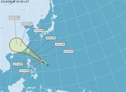 太平洋高壓回神 東部、南部受白鹿影響最大