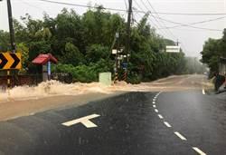 中市水利局勘查新社4處淹水點 持續改善淹水問題