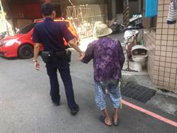 警建失智老人資料庫  助9旬婦人平安返家
