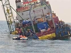 彰化外海工作船險翻覆 海巡救40人