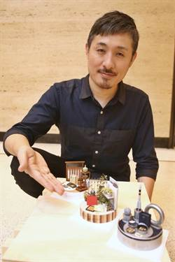 微縮藝術家田中智 製作全球唯一1/12的漢餅模型