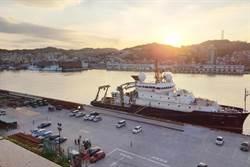 美國海軍船懸掛我國旗 基隆港:國際禮儀
