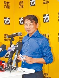 徐永明接時力黨主席 未表態挺英