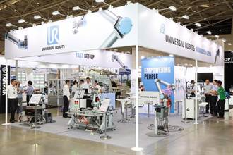 Universal Robots於台北國際自動化工業大展秀機器人