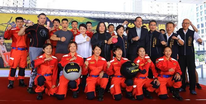 全球障礙路跑指標「斯巴達障礙跑競賽」,9月21日將在台中洲際棒球場首度舉辦STADION體育館賽事,廣發英雄帖歡迎各路英雄好漢來參加。(陳世宗攝)