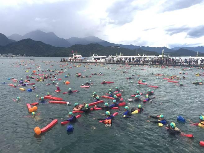 2019日月潭萬人泳渡,將於9月1日登場。(廖志晃攝)