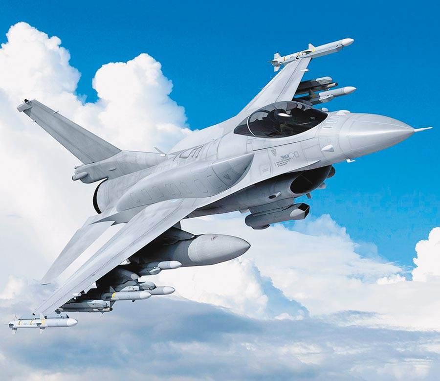 圖為F-16V想像圖。(摘自洛克希德馬丁官網)