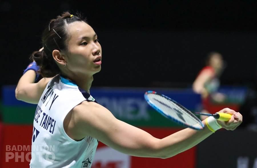 戴资颖有连续得分的能力,抓住感觉了,往往能一举击溃对手。(资料照/Badminton Photo提供)