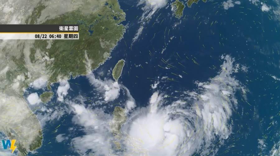 白鹿颱風是否侵台,彭啟明表示,主要看太平洋高壓強弱及環流整合的樣態。(翻攝自彭啟明臉書)