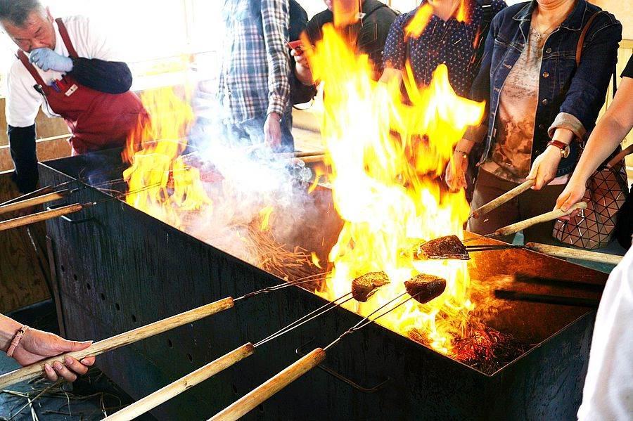 鰹魚船_鰹魚稻草燒。(圖取自活動官網)