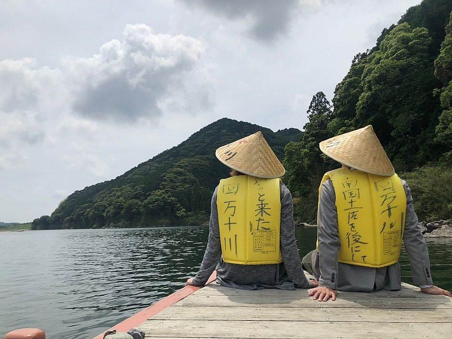 松廣屋舟母浪漫_四萬十川帆船體驗。(圖取自活動官網)