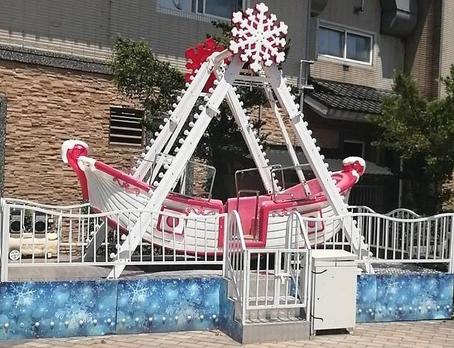 為回饋來港遊客,富基魚市特引進戶外遊樂設施,現場免費讓遊客搭乘遊玩(此為示意圖)。(圖取自新北市漁業處官網)