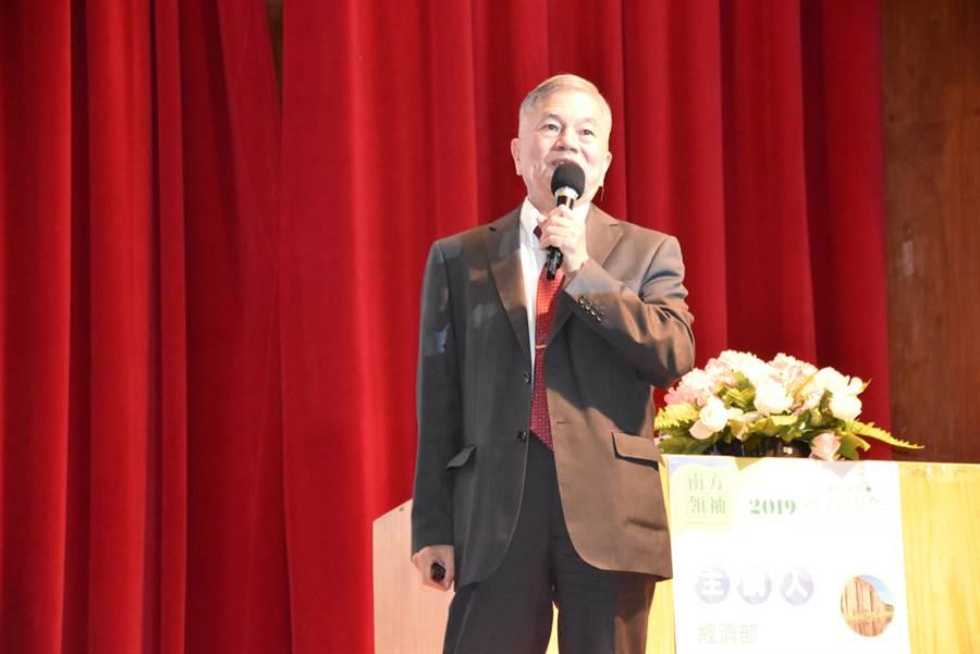 經濟部長沈榮津表示,核電爭議不能只看運轉成本便宜,初期設置、除役成本才是真正的無底洞。(袁庭堯翻攝)