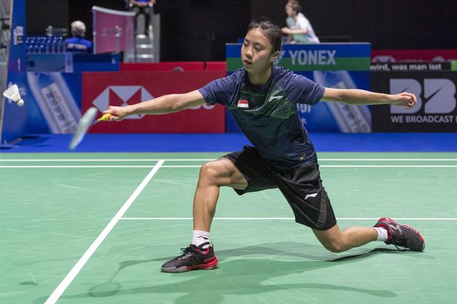 新加坡選手楊佳敏在今年世錦賽大爆發,先擊敗世界球后山口茜,再力退越南選手武氏妝,成為星國第一位晉級世錦賽女單八強的選手。(美聯社)