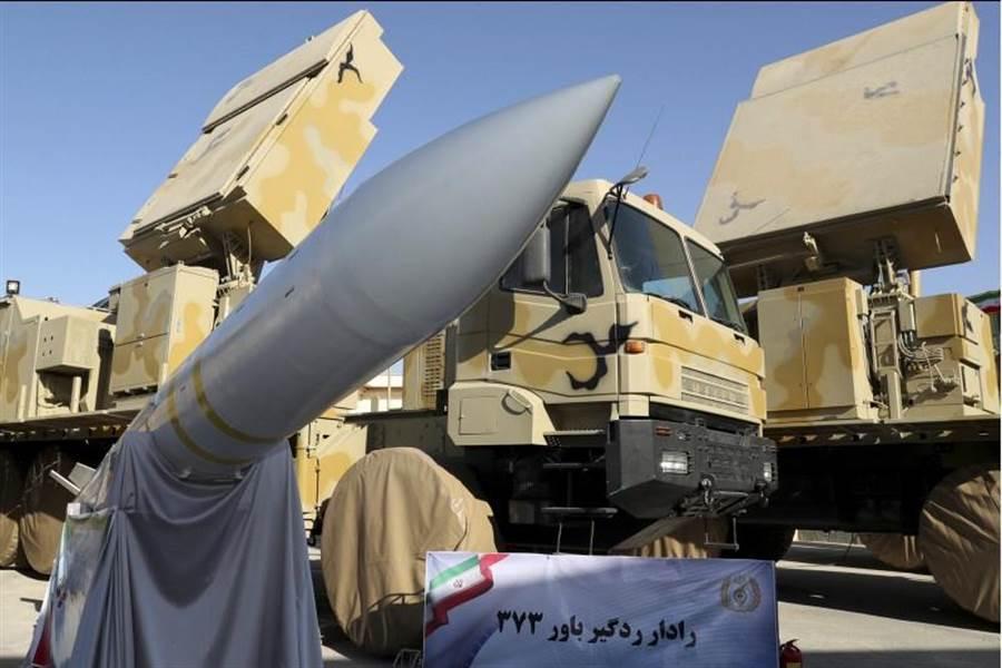 伊朗新防空系統Bavar-373有效射程為200公里,可同時識別100個目標。(美聯社)