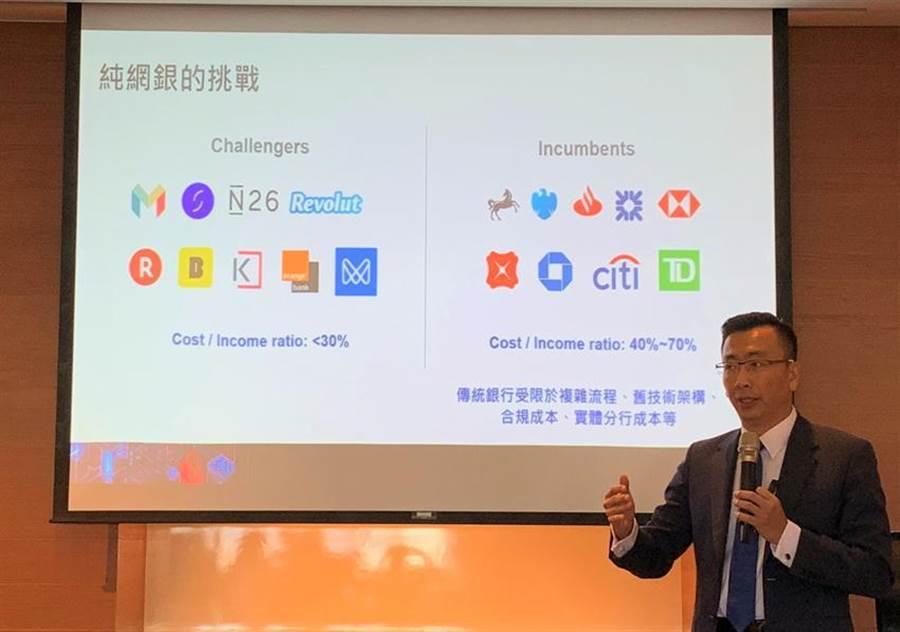 (台灣IBM全球企業諮詢服務事業群總經理吳建宏。圖/陳碧芬)