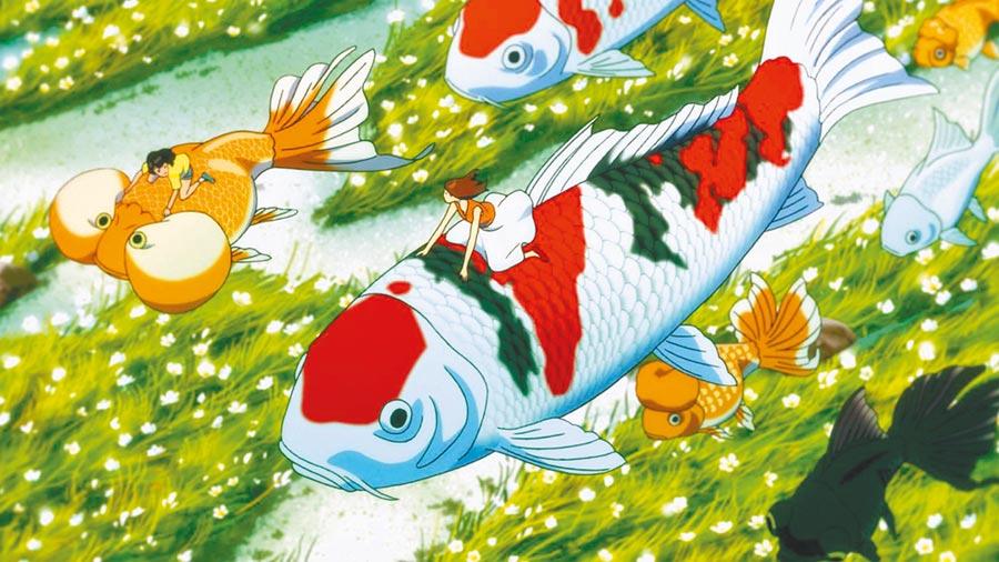 《生日幻境》所描繪的異世界,一切都彷彿鍍上一層奇異色彩,不僅有魔法,也有不少稀奇古怪的生物。(木棉花提供)