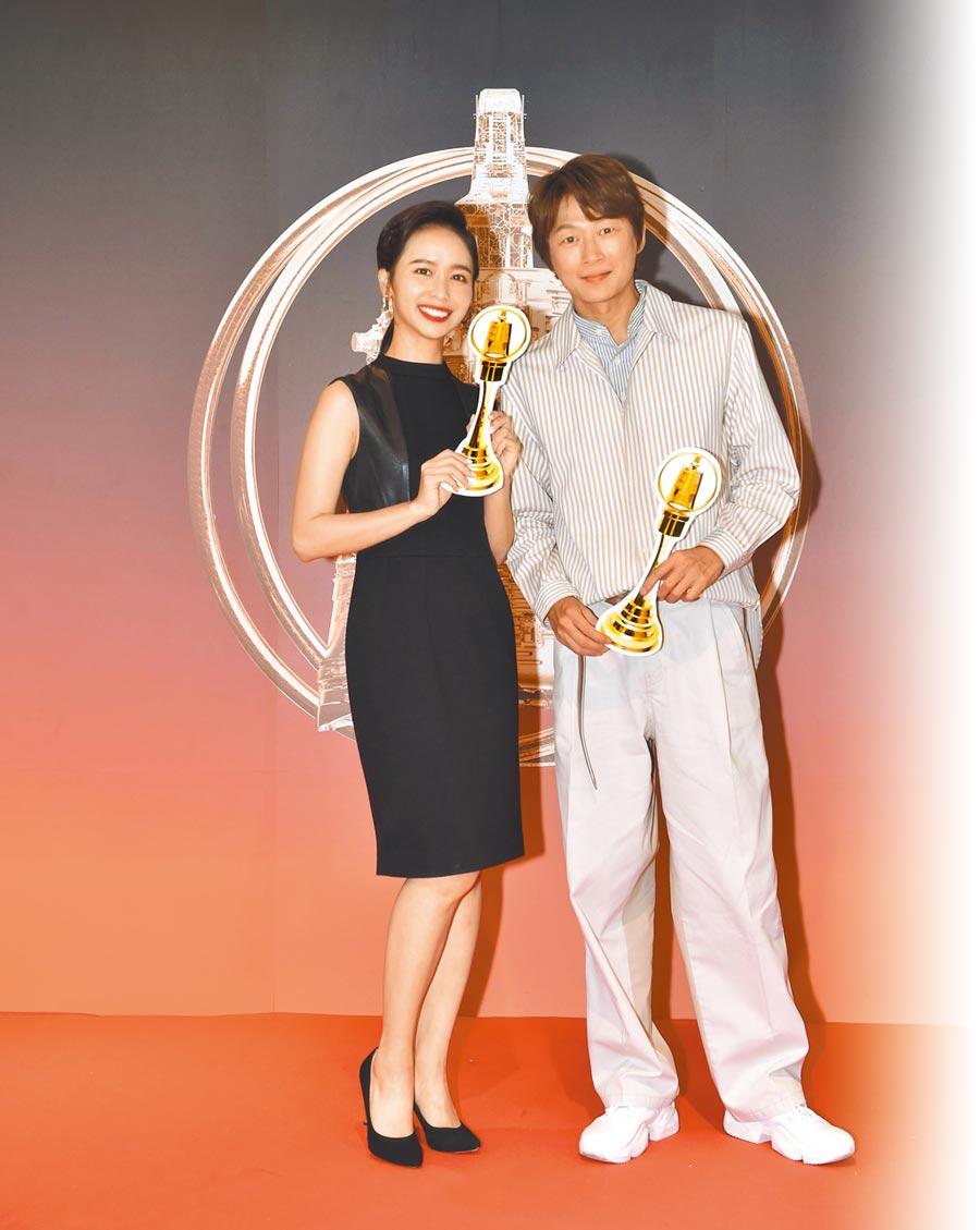 陳明珠(左)、吳建恆皆入圍今年廣播金鐘獎。