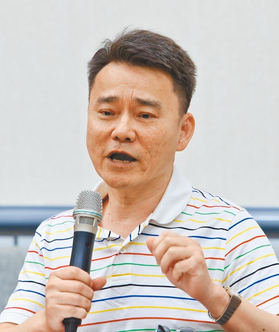 大陸地區高校學生協會理事長陳建仲。(本報系記者劉宗龍攝)