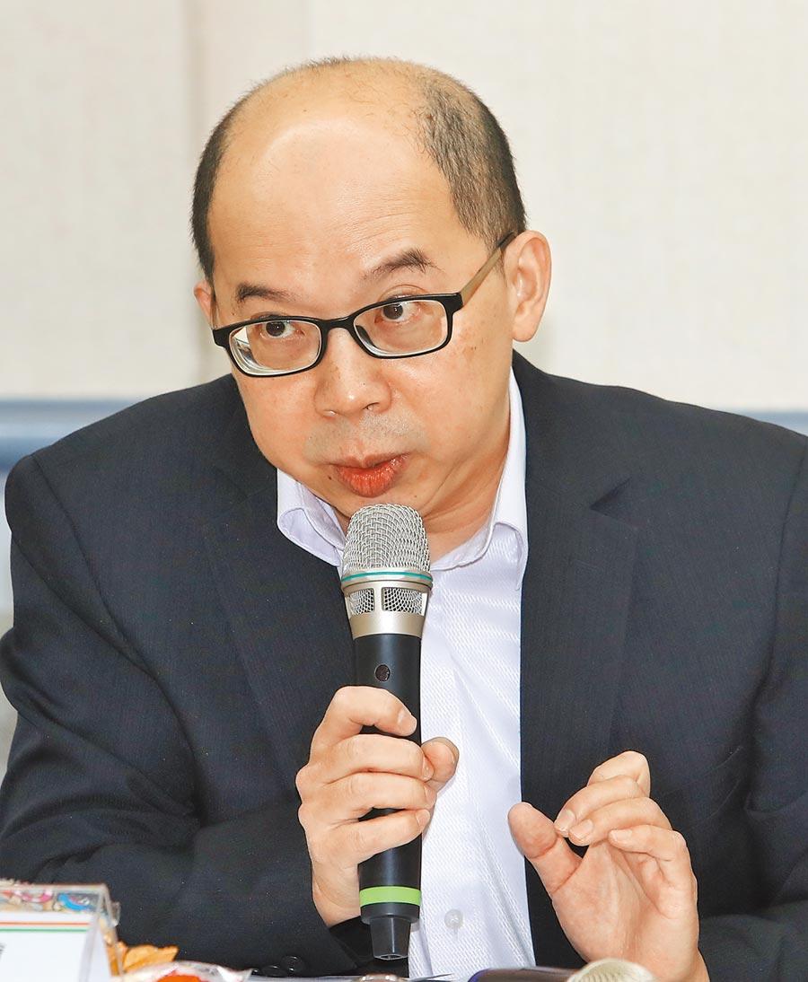兩岸政策協會副祕書長張百達。(本報系記者劉宗龍攝)