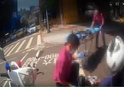 民眾開車突然昏迷追撞   警察CPR全力搶救