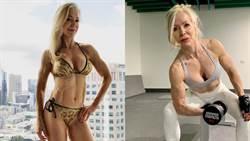 嫩妹閃邊站!63歲健身辣嬤「冰塊腹肌+饅頭巨乳」:只跟小鮮肉交往