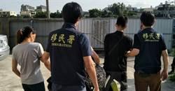 設密道躲過監視器 移民署台中專勤隊仍破獲逮三名非法移工